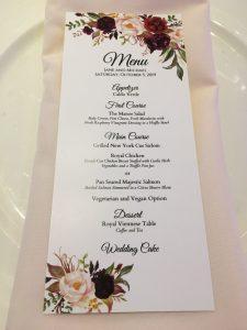 Jane & Michael's Autumn Wedding in Soft Burgundy, Peach & Blush Tones || Dreamery Events