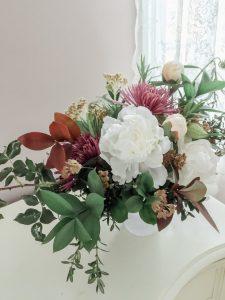 Autumn Florals :: A Foraged Peony Arrangement || Dreamery Events