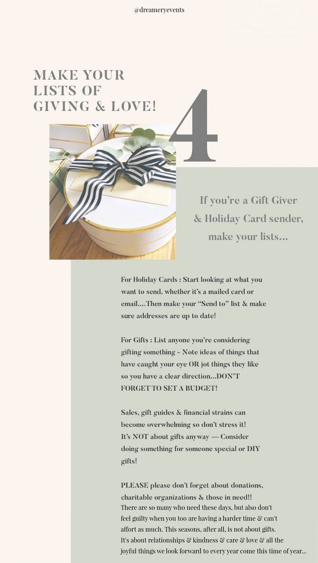 Effortless Holiday Entertaining Tips || Dreamery Events