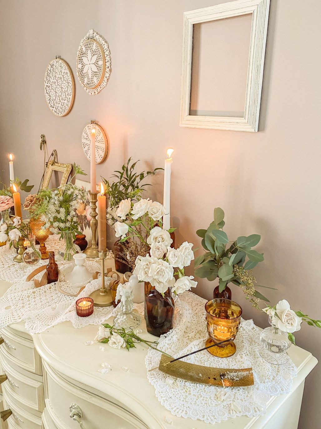 Amber is the Color of your Energy ... a Cottagecore Gathering for Love & Flowers || Dreamery Events