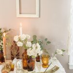 Amber is the Color of your Energy … a Cottagecore Inspired Valentine's Tablescape