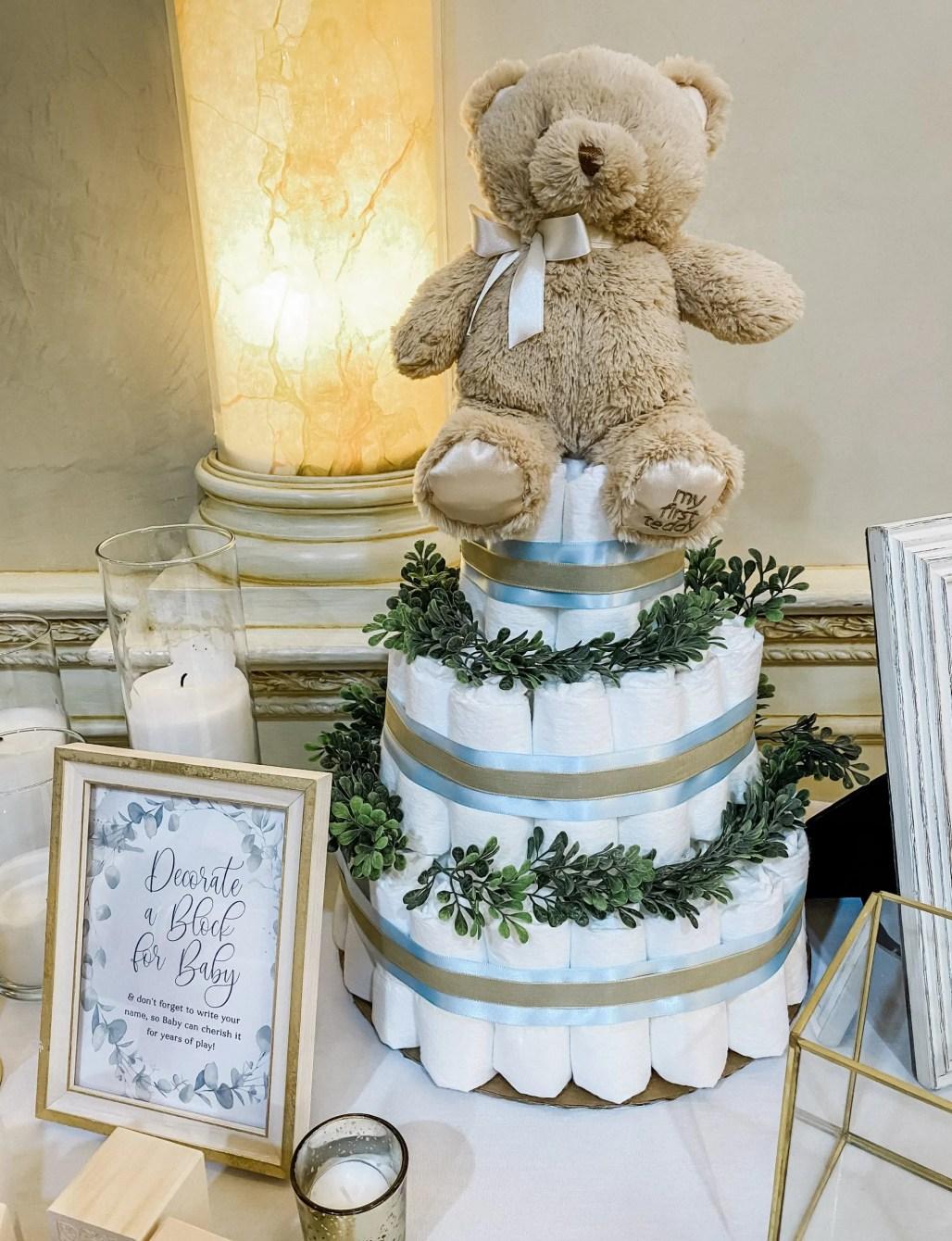 A Little Man Bow Tie & Teddy Bear Baby Shower || Dreamery Events