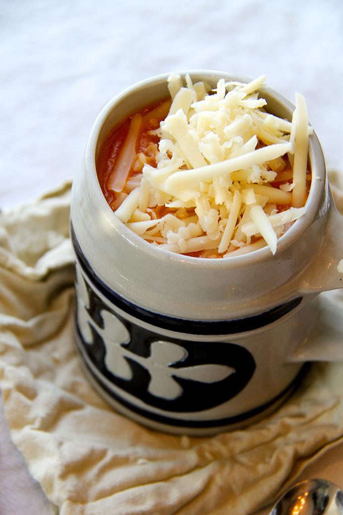 Smoked Gouda Tomato Soup