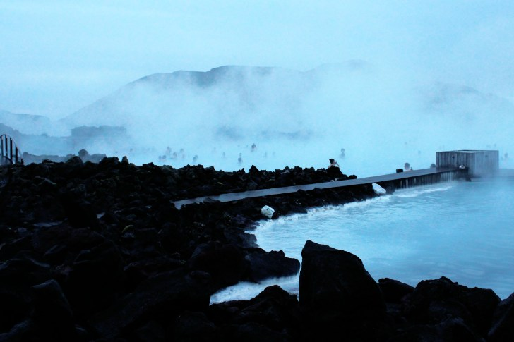 Iceland's blue lagoon and the golden circle