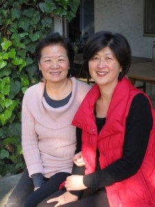 Peggy Liou and Tenny Tsai, in Los Altos, February 2013.