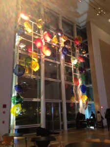 Glass sculptures at the DMA.