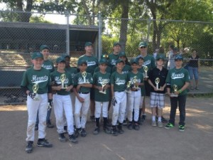 Hornets, 2nd place, San Anselmo, July 2012.