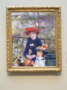 Renoir's Two Sisters, 1881.