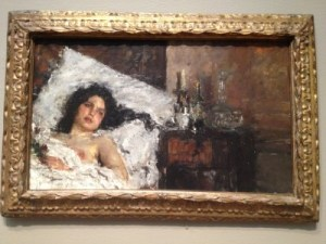 Resting, 1887.