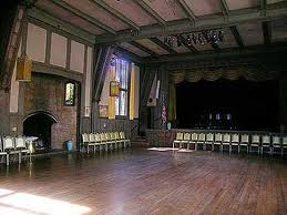 Inside the historic Hillside Club in Berkeley (photo from Berkeleyside.com).