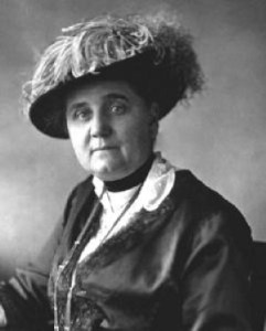 An older Jane Addams (from the Chicago Gay and Lesbian Hall of Fame site).