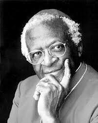 Bishop Desmond Tutu (photo by Mark Haddon).