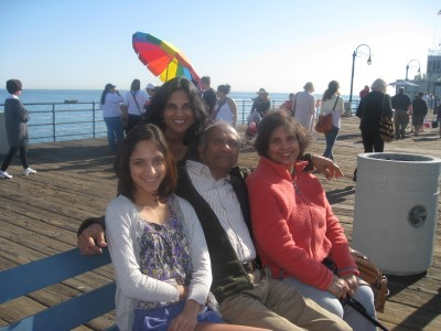 Sofia and her mother, Raissa, and her grandparents.