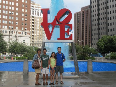 Philadelphia boasts many statues and sculptures. This sculpture was made famous in the 1970s.