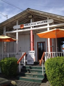 The Orange Works in Strathmore, just up the road from Porterville.