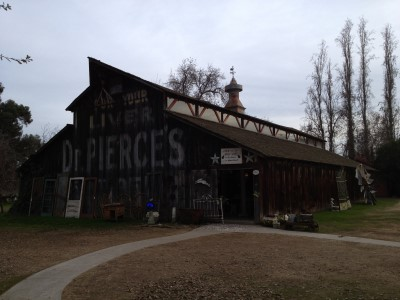 This old barn - Good Goods' main building of antiques and vintage goods.