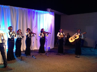 The all-female mariachi band Flor de Toloache, which is the subject and title of New Yorker Jenny Schweitzer's short film.
