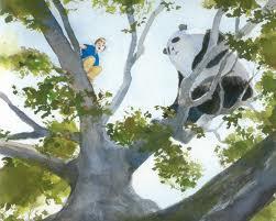 A scene from Zen Shorts by Jon J Muth.