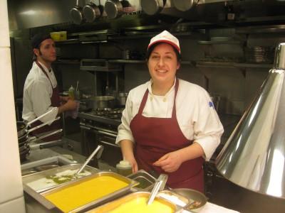 At Maialino Restaurant in New York City.