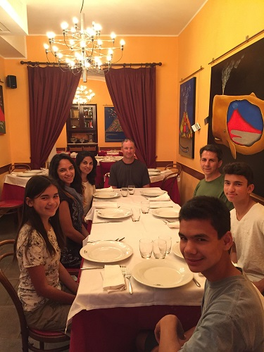 Last Napoli meal at Umberto.