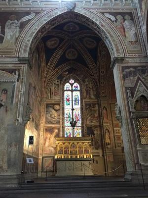 More Santa Croce interior.