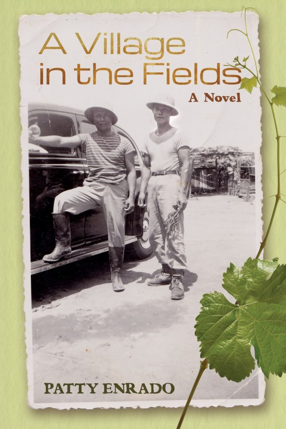 My beautiful book cover, designed by Melody Shah. Archival photograph from the Lorraine Agtang Collection, courtesy of Welga! Filipino American Labor Archives, University of California at Davis Library.