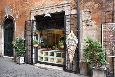 Gelato shop - yes!