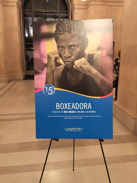 Boxeodora poster