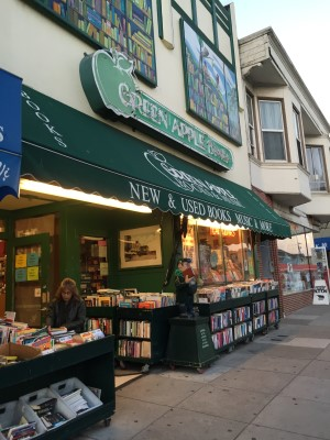 My old neighborhood indie bookstore in the Inner Richmond district in San Francisco.