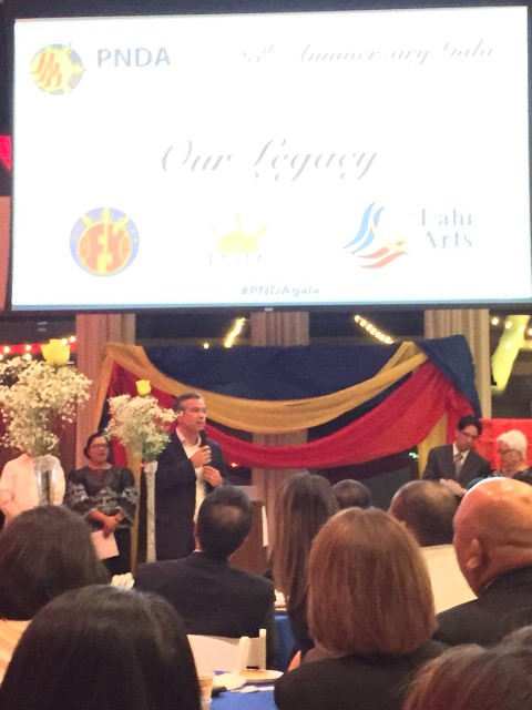 Assemblyman Rob Bonta takes the floor.