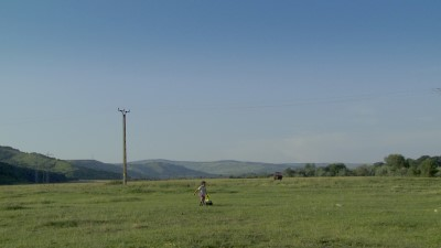 The wide open spaces - a scene from Helping Mihaela.