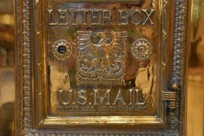Letter box detail (photo by David).