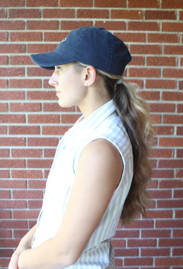 baseball hat hairstyles | dress decoded