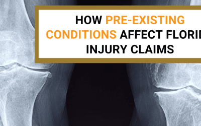 How Pre-Existing Conditions Affect Florida Injury Claims