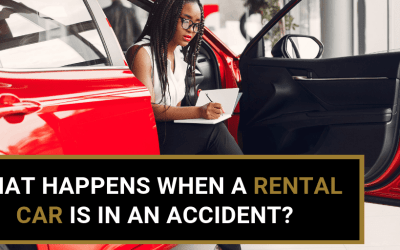 What Happens When A Rental Car Is In An Accident?