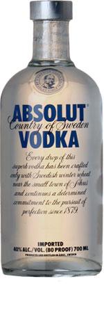 Absolut Vodka 70cl