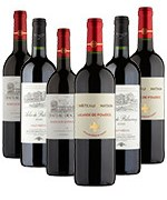 Classic Vintage Claret Mixed Case - Case of 6