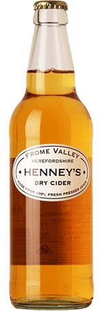 Henney's Dry Cider 12 x 500ml Bottles