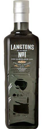 Langtons No.1 Lakeland Gin 70cl
