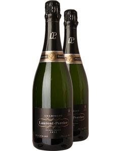 Laurent-Perrier Vintage Two Bottle Champagne Gift 2 x 75cl Bottles