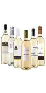 Mouthwatering Whites Mixed Case - Case of 6