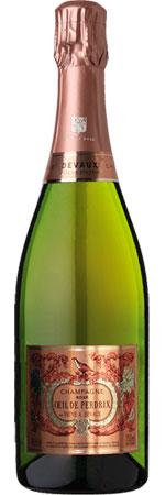 Oeil de Perdrix Single Bottle Champagne Gift