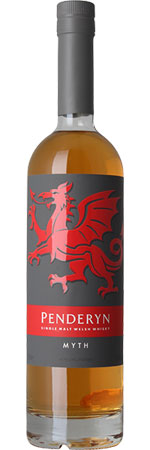 Penderyn Myth Single Malt Welsh Whisky 70cl