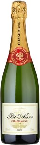 Pol Aimé Champagne Brut Reserve 750ml - Case of 6