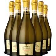Prosecco Conegliano Six Bottle Champagne Gift 6 x 75cl Bottles