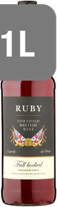 Tesco Ruby Fortified British Wine 1 Litre - Case of 6