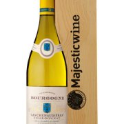 Bourg Chard Chenaudieres Single Bottle Wine Gift in Wood