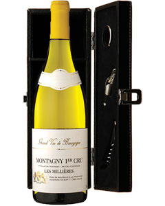 Montagny 1er Cru 'Les Millières' Single Bottle Wine Gift in Accessories Box
