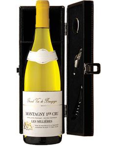 Montagny 1er Cru 'Les Millières' Single Bottle Wine Gift in Accessories Box