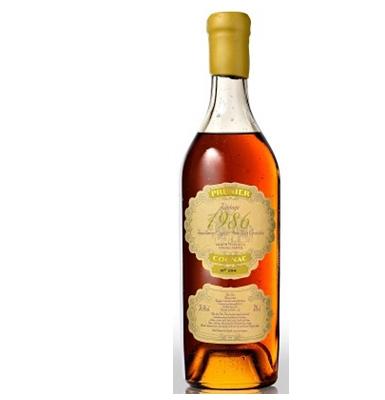Prunier 1986 Single Vintage Cognac